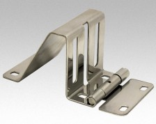stainless side hinge  30x244/2,0 mm